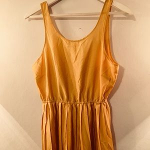 Yellow Mustard I Love H81 Dress